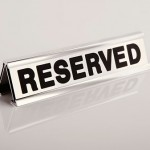 reserved-sign